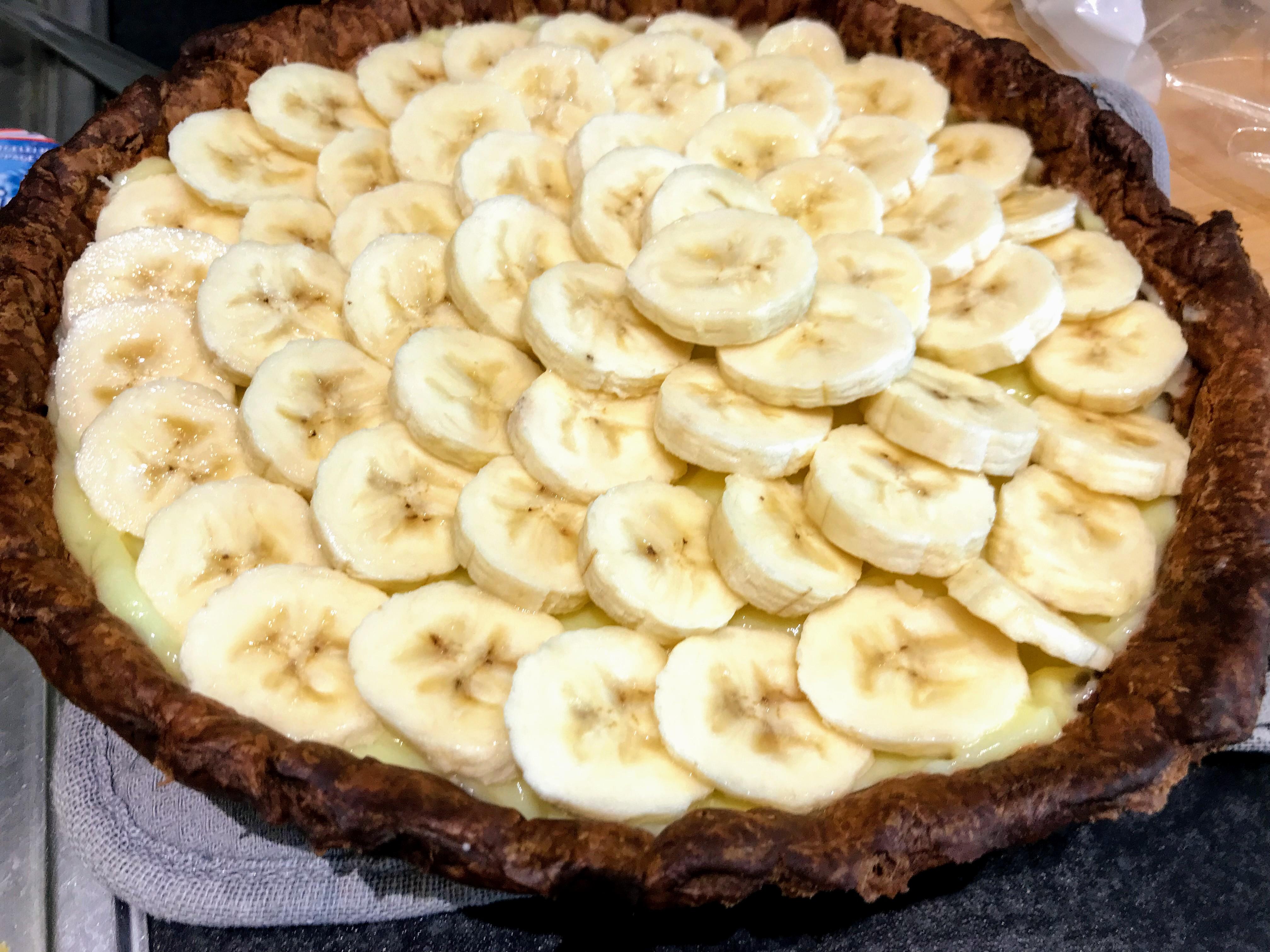 Bananentaart recept (met bladerdeeg): gemakkelijk zelf maken in 30 minuten!